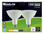2 pk. PAR38 Flood LED Light Bulbs - 950 Lumens - 27000K