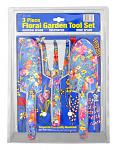 3 - pc. Floral Garden Tool Set - Flower