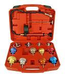 14 - pc. Cooling System & Radiator Cap Pressure Tester - Cal-Hawk