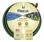 "25' Light Duty 3 Ply 5/8"" Flexon Garden Hose - Green"