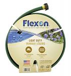 "75' Light Duty 3 Ply 5/8"" Flexon Garden Hose - Green"