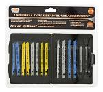 14 pc. Universal Type Jigsaw Blade Assortment