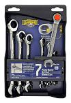Gearhead 7 Piece Set of Metric Traditional and Ratcheting Combo Wrenches