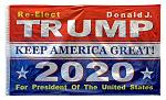 3' x 5' Keep America Great 2020 - Donald Trump Flag