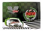 Mountain Mtn. Dew Racing Race Car Tin Metal Sign