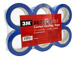 3M Scotch 311 Carton Sealing Tape - Blue