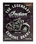 Indian Motorcycles - Tin Sign
