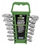 7 - pc. Stubby Combination MM Wrench Set - Grip