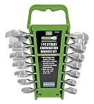 7 - pc. Stubby Combination SAE Wrench Set - Grip