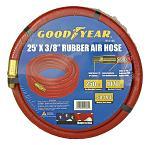 "25' x 3/8"" Rubber Pneumatic Air Hose - Goodyear"