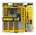 35 - pc. DeWalt Screwdriver Bit Set