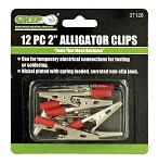 "12 - pc. 2"" Alligator Clips - Grip"