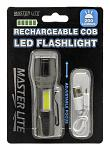 Rechargeable COB LED Flashlight - Master Lite