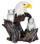 Proud Seasons Eagle Salt & Pepper Shakers