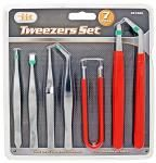 7-pc. Tweezers Set