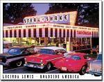 Steak N Shake Tin Sign