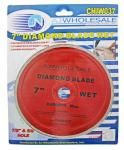 "7"" Wet Cut Diamond Blade"