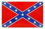 Confederate Flag Tin Sign
