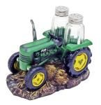 Harvest Seasons Tractor Salt & Pepper Shakers