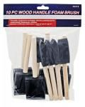 10-pc. Foam Paint Brush