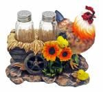 "7"" Poultry Seasoning Hen Salt & Pepper Shakers"