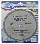 "10"" x 80 Tooth Carbide Blade Circular Saw"