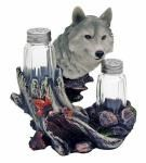Wolf Seasons Salt & Pepper Shakers