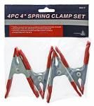 "4-pc. 4"" Spring Clamp"