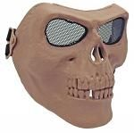 Full Skull Mask - Tan