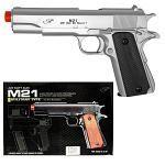 M21 Spring Airsoft Handgun - Silver