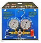 R12 A/C Refrigerant Manifold Gauge Set