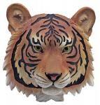 Feral Gaze Hanging Tiger Head