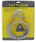40mm Insulated Padlock with Cable