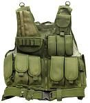 Mesh Tactical Vest - OD Green