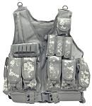 Mesh Tactical Vest - ACU Digital Camo