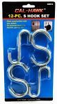 12-pc. S Hook Set