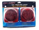 12V Trailer Light w/ LED Light Bulb