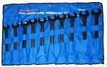10-pc. Jumbo Combination Wrench Set - Metric