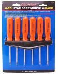 6-pc. Torx Screwdriver Set w/Rack