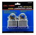 2-pc. 40mm Laminated Locks