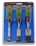 3-pc. Wood Chisel Set