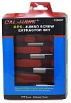 8-pc. Jumbo Screw Extractor Set