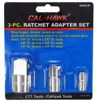 3-pc. Ratchet Adapter Set