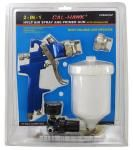 2-in-1 HVLP Air Spray and Primer Gun with Regulator