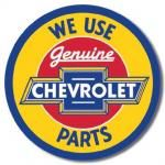 Genuine Chevrolet Parts Tin Sign
