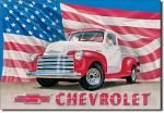Chevrolet 1951 Pick Up Truck Tin Sign