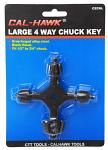 4-Way Chuck Key - Large