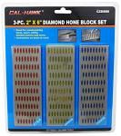 "3-pc. 2"" x 6"" Diamond Hone Block Set"