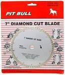 "7"" Diamond Cut Blade"