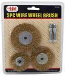 5-pc. Wire Wheel Brush